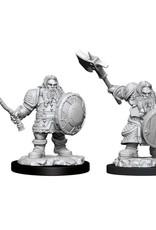 WizKids D&D NM: Male Dwarf Fighter
