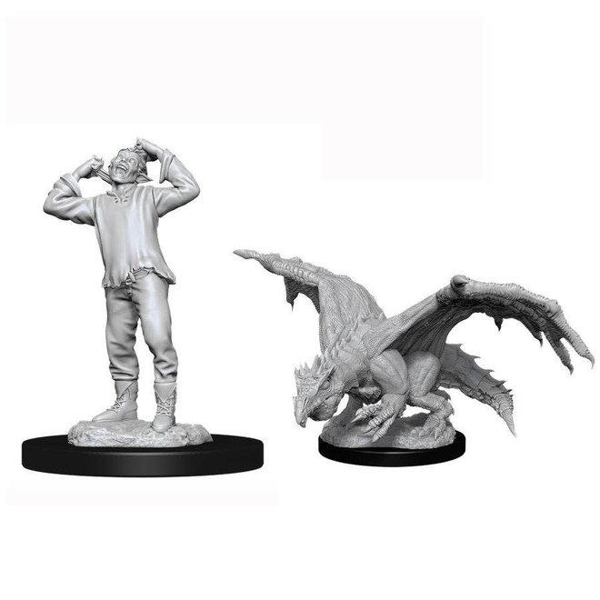 D&D NM: Green Dragon Wyrmling