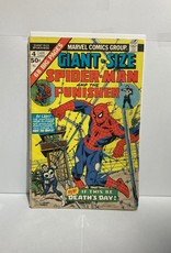 Marvel Comics Giant Size Spider-Man #4 (1975) 3rd Punisher app