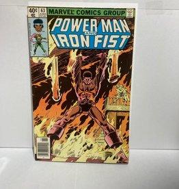 Marvel Comics Power Man and Iron Fist #63 (1972)