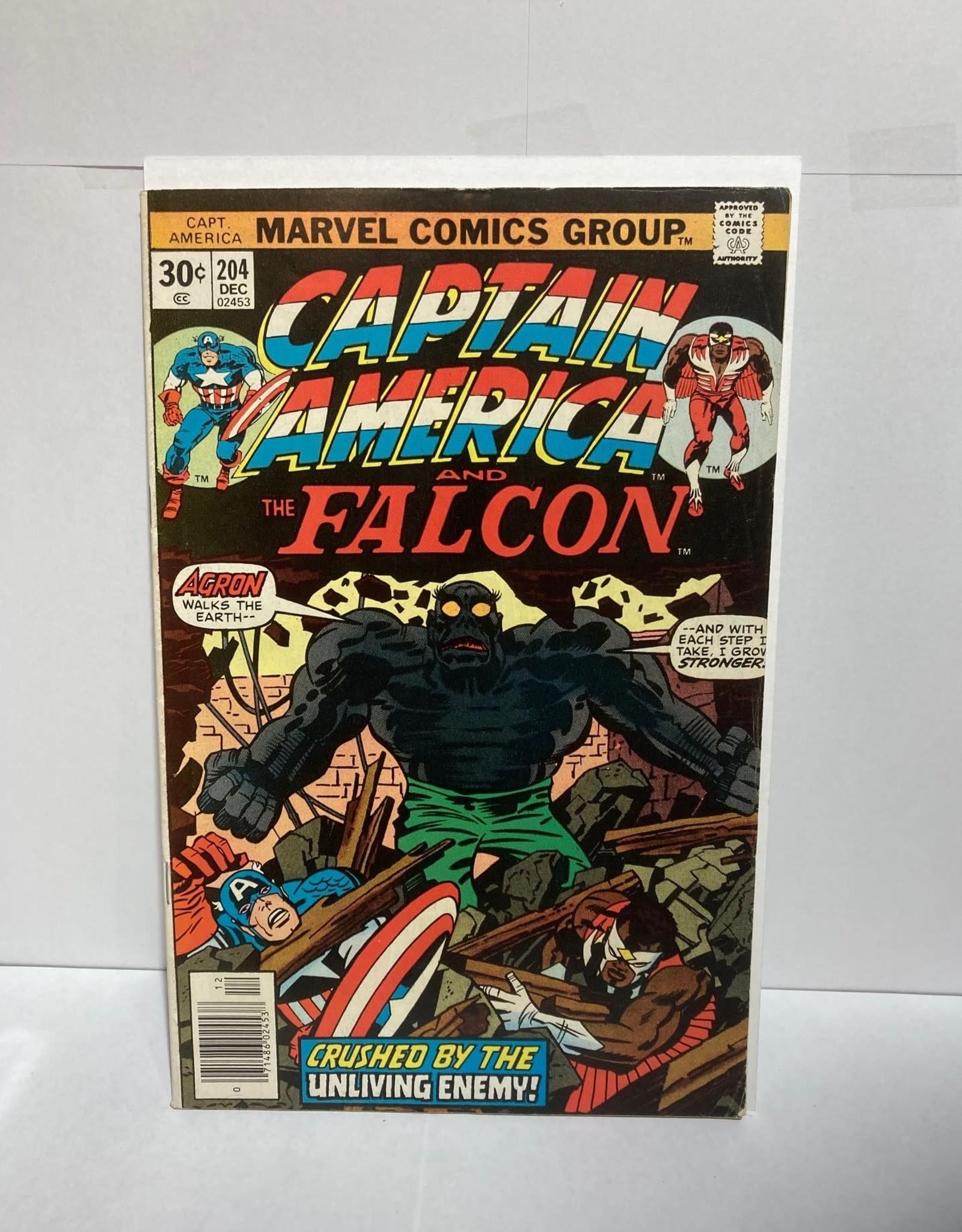 Marvel Comics Captain America #204 (1977)