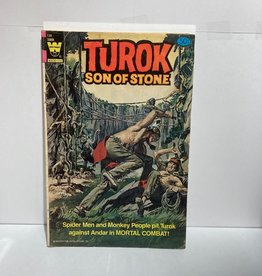 Western Publishing Turok Son of Stone #128 (1964) Whitman Variant
