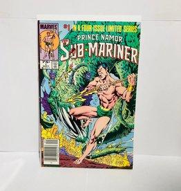 Marvel Comics Sub-Mariner #1-#4 Limited Edition (1984 Bundle)