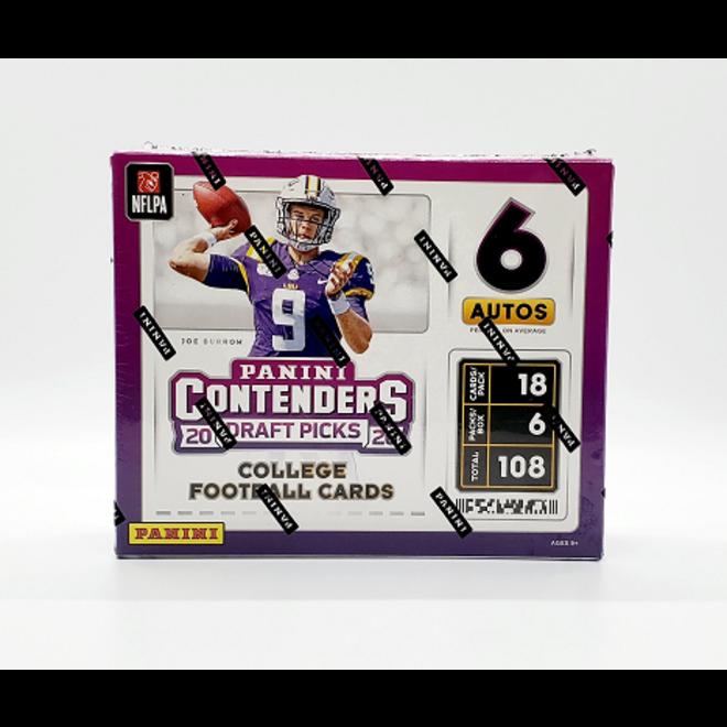 2020 Panini Contenders Draft Picks College Football Hobby Box