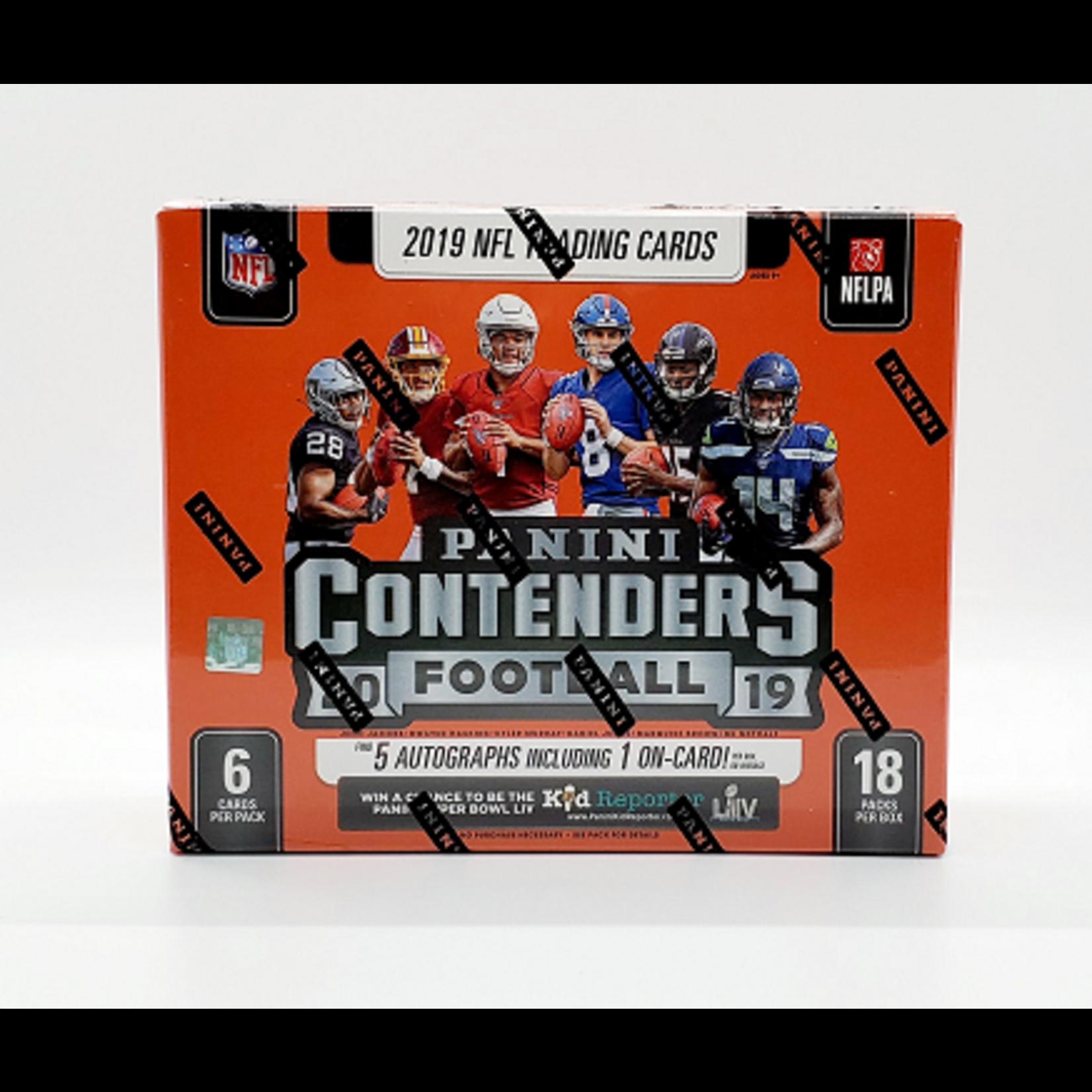 Panini America 2019 Panini Contenders Football Hobby Box