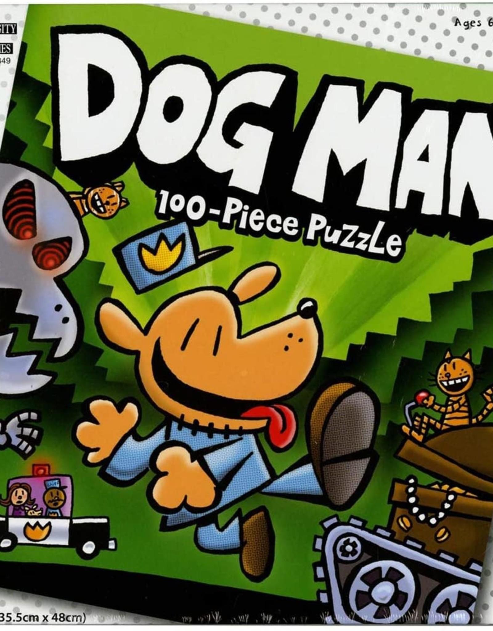 University Games Dog Man Unleashed 100 pc Puzzle