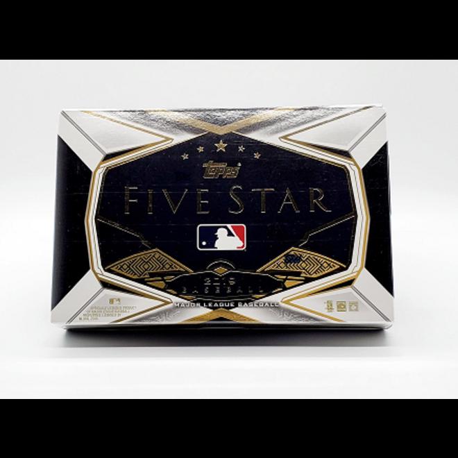 2019 Topps Five Star Hobby Box