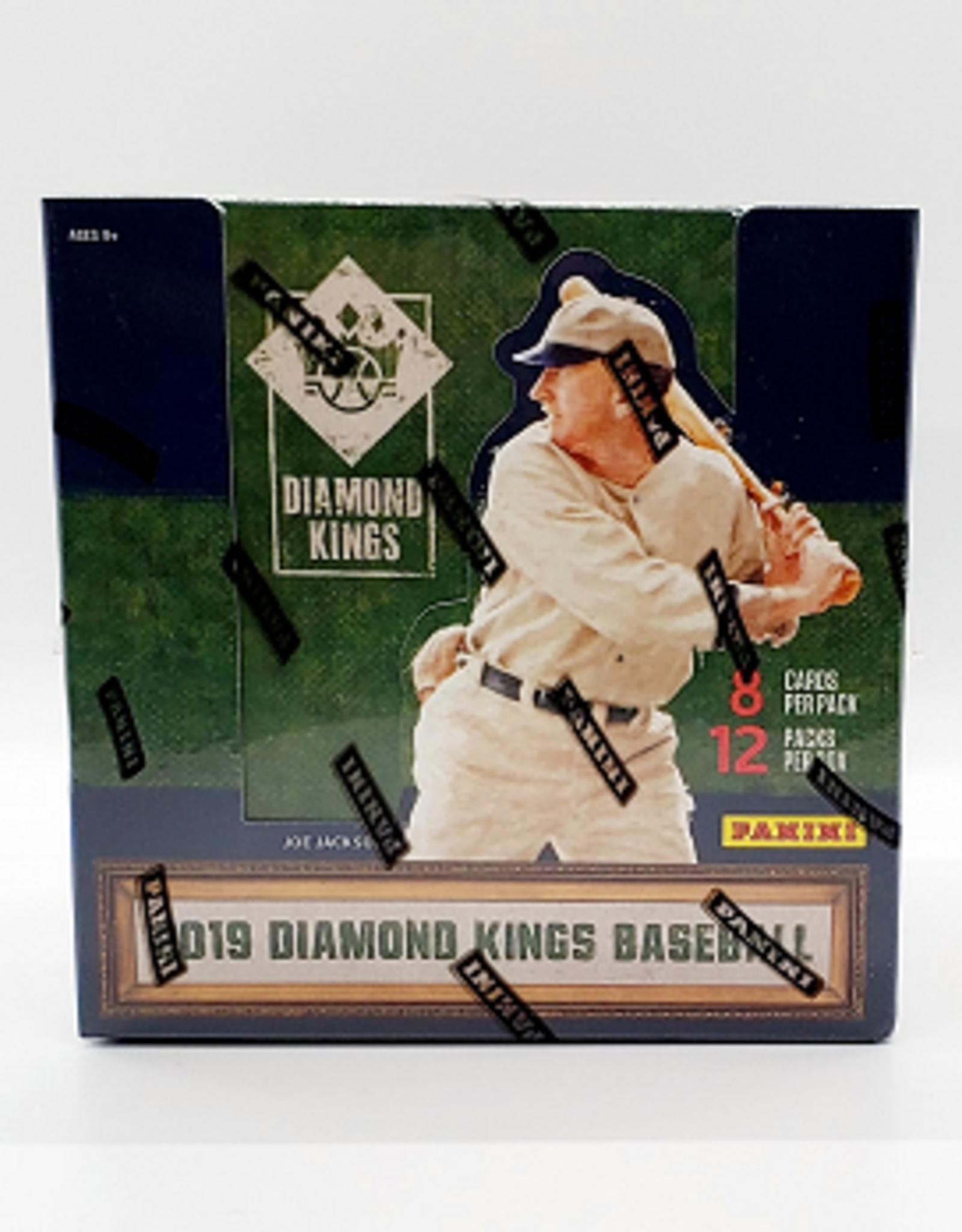 Panini America 2019 Panini Diamond Kings Baseball Hobby Box