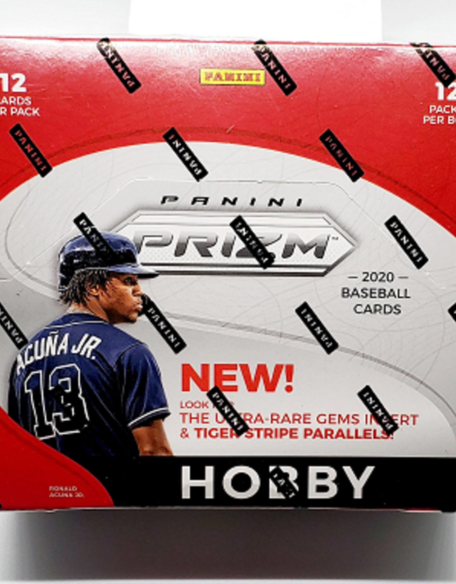 Panini America 2020 Panini Prizm Baseball Hobby Box