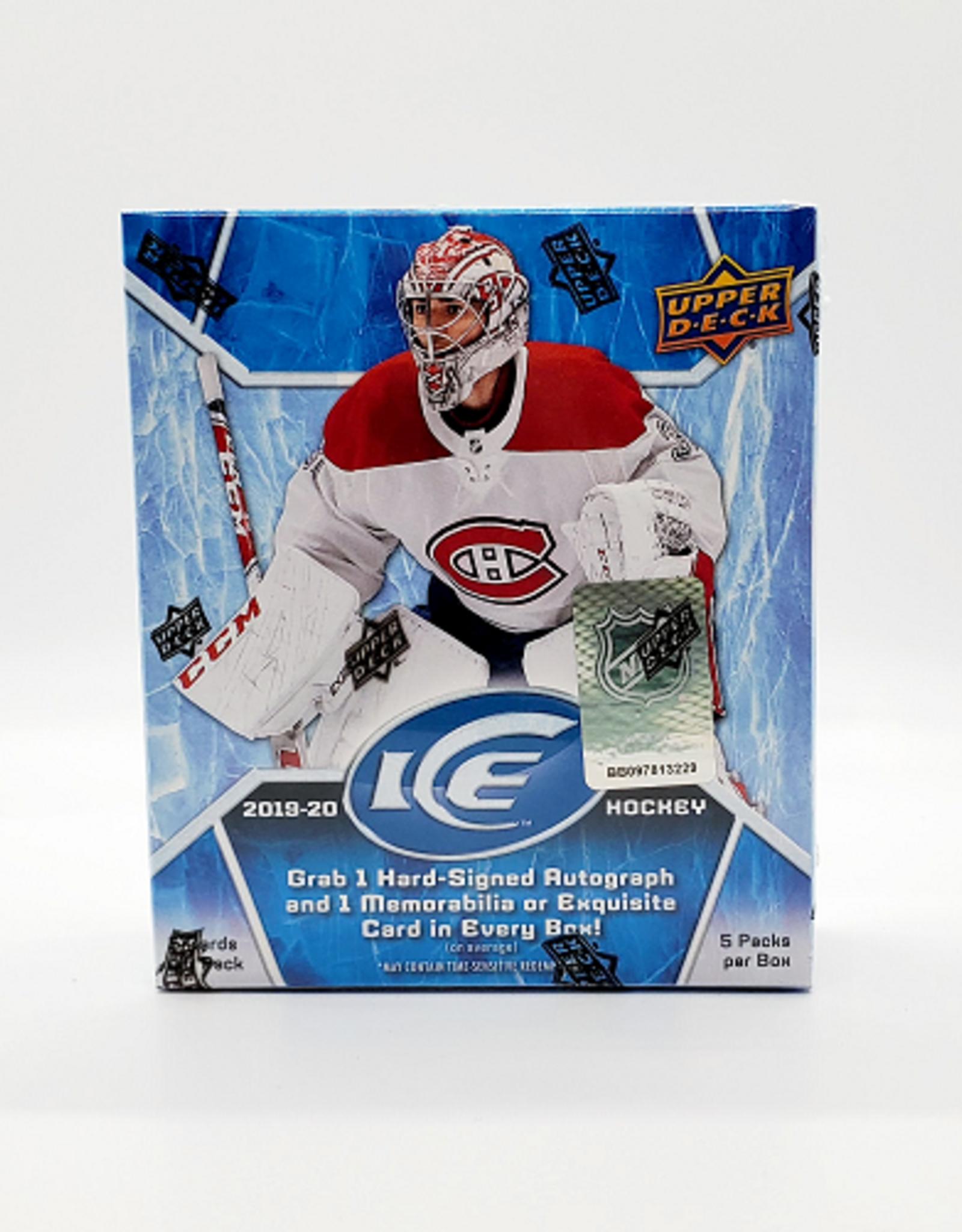 Upper Deck 2019-20 Upper Deck Ice Hockey Hobby Box