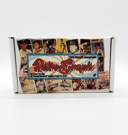 Historic Autograph Company 2020 Historic Autographs Retrograph Baseball Box