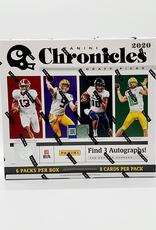 Panini America 2020 Panini Chronicles Draft Picks Collegiate Football Hobby Box