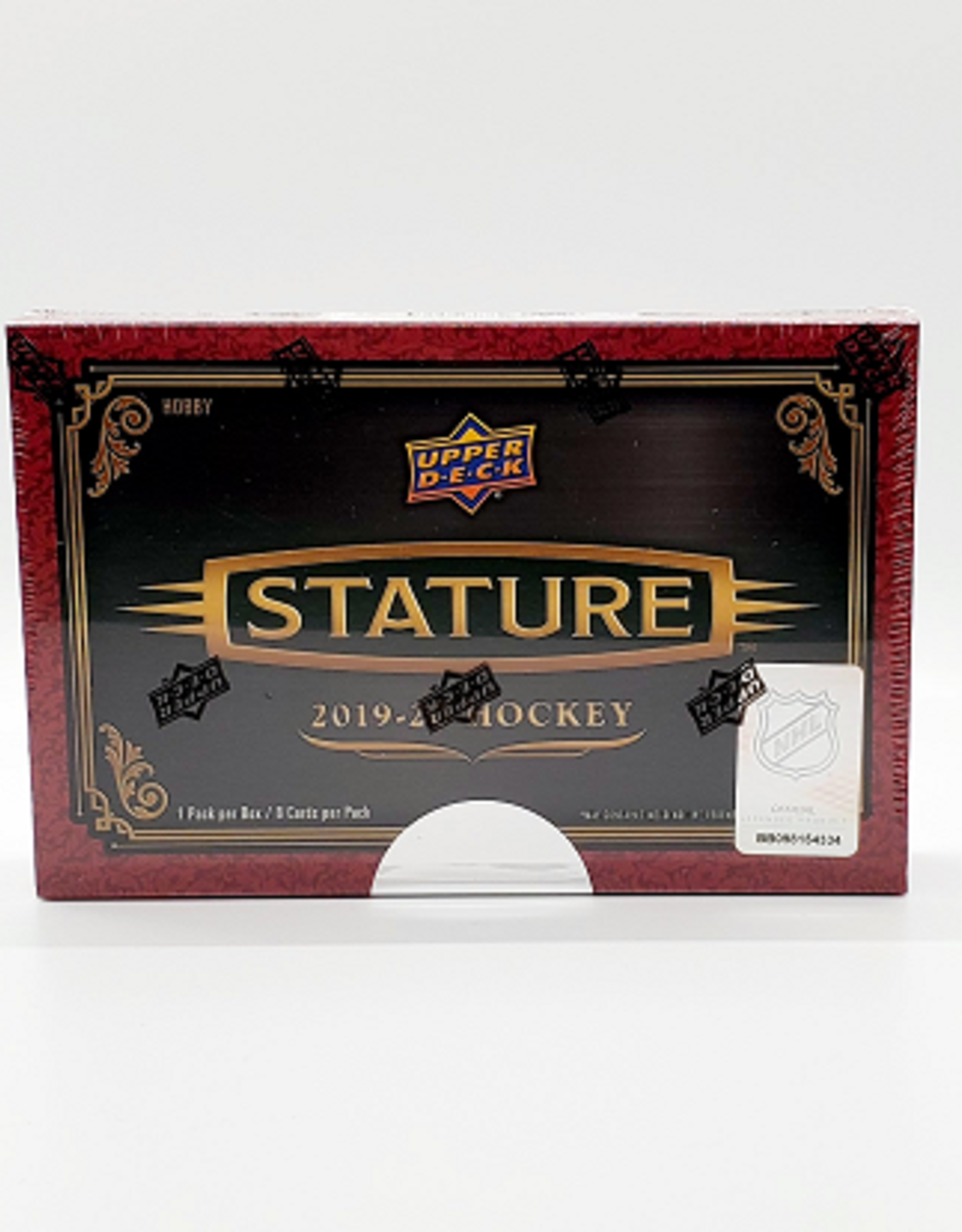 Upper Deck 2019-20 Upper Deck Stature Hockey Hobby Box