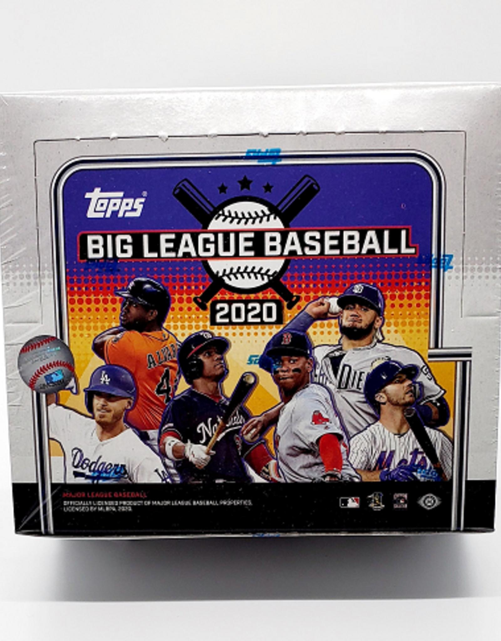 Topps 2020 Topps Big League Baseball Hobby Box