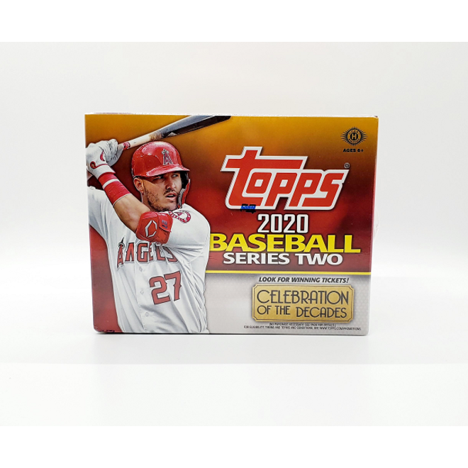 2020 Topps Series 2 Baseball Jumbo Box