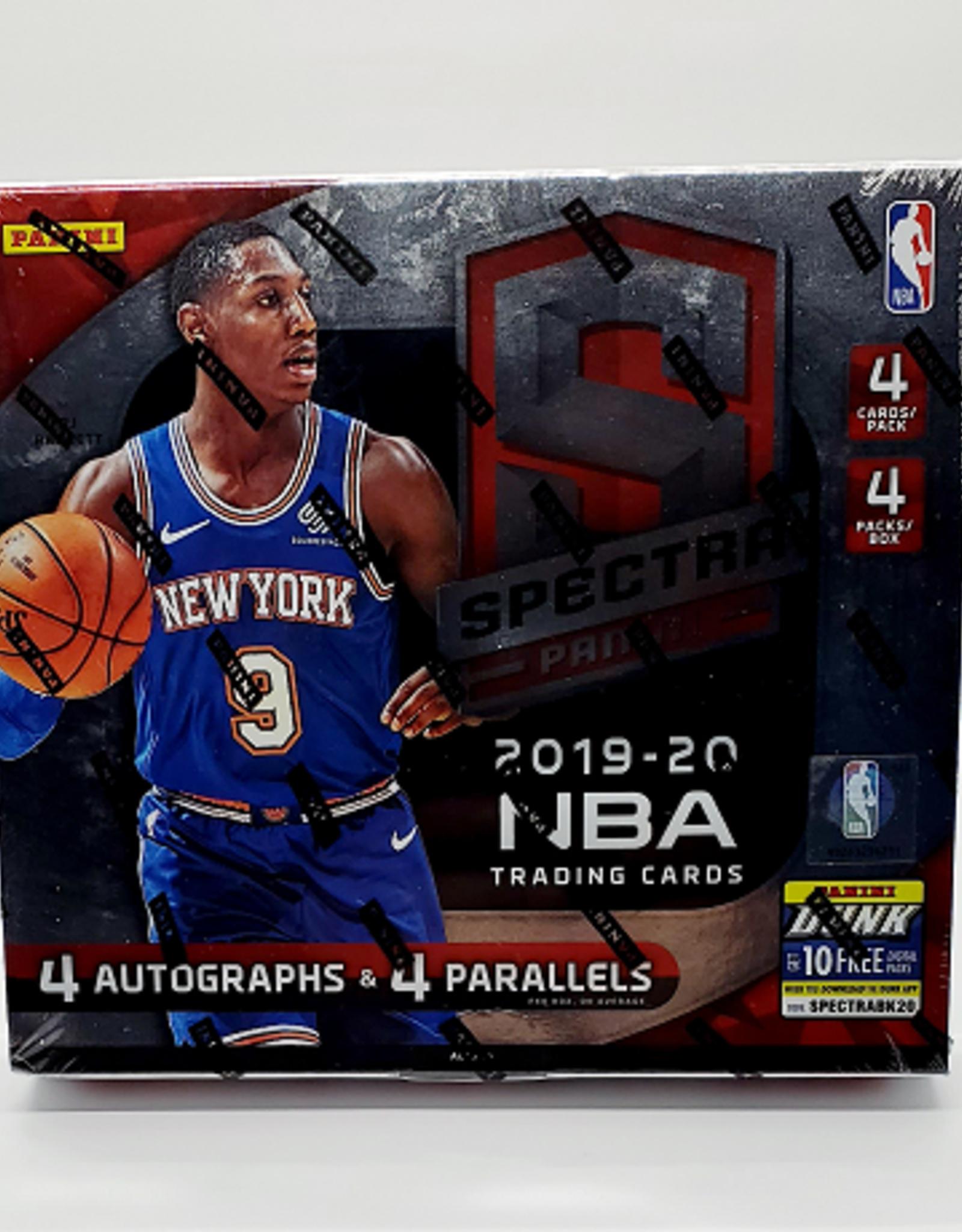 Panini America 2019-20 Panini Spectra Basketball Hobby Box