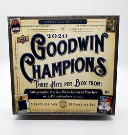 Upper Deck 2020 Upper Deck Goodwin Champions Hobby Box