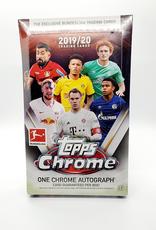 Topps 2019-20 Topps Chrome Bundesliga Soccer Hobby Box