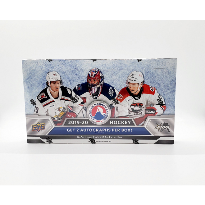 2019-20 Upper Deck AHL Hockey Hobby Box