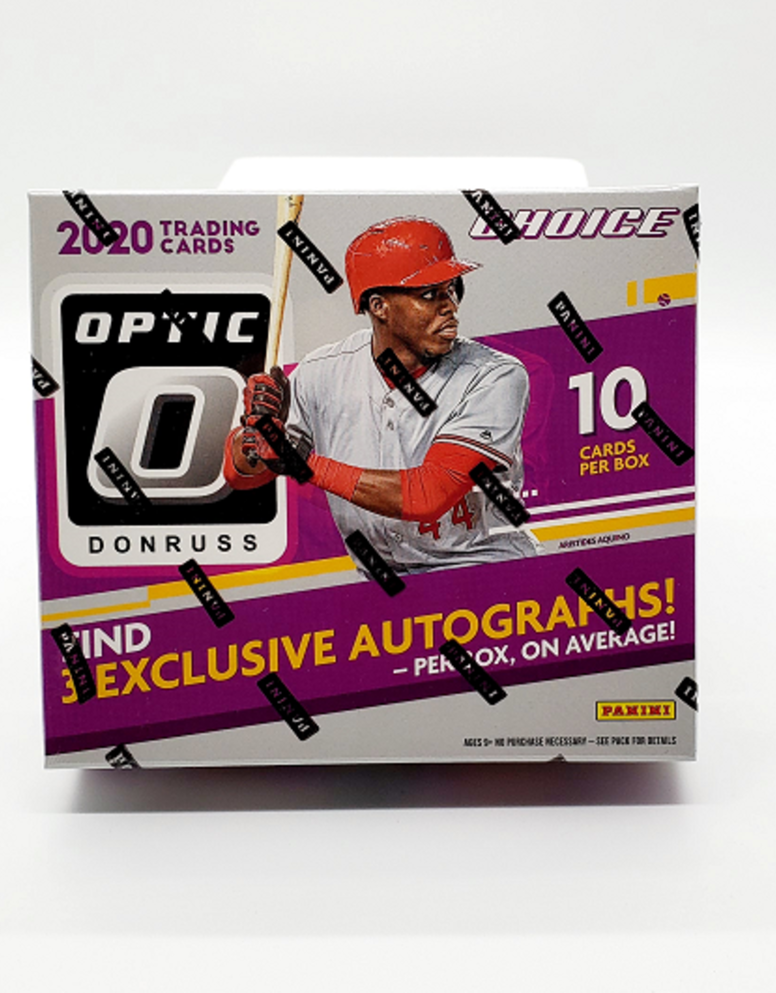 Panini America 2020 Donruss Optic Choice Baseball Hobby Box
