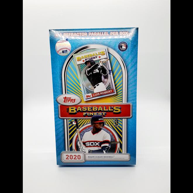 2020 Topps Finest Baseball Flashback Hobby Box