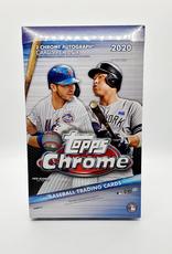 Topps 2020 Topps Chrome Baseball Hobby Box