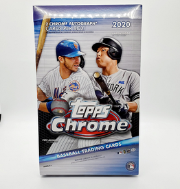 Topps 2020 Topps Chrome Baseball Hobby Box