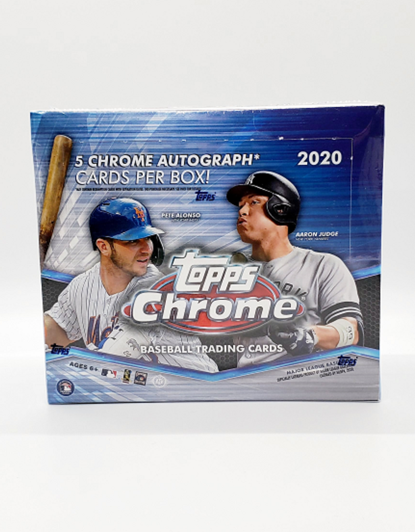 Topps 2020 Topps Chrome Baseball Jumbo Box