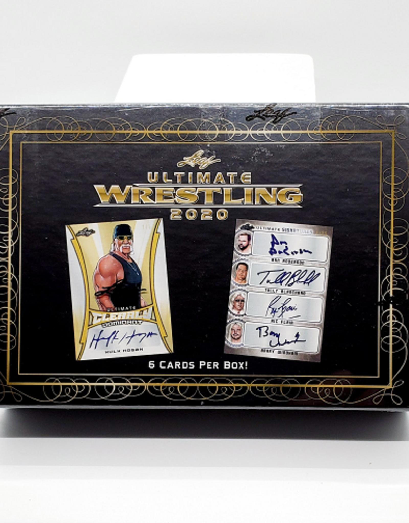 Leaf Trading Cards 2020 Leaf Ultimate Wrestling Hobby Box