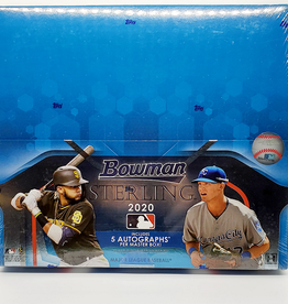 Topps 2020 Bowman Sterling Baseball Hobby Box
