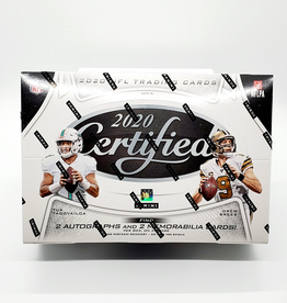 Panini America 2020 Panini Certified Football Hobby Box