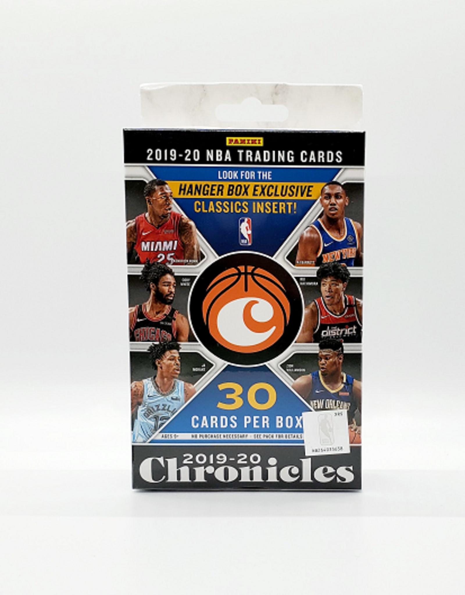 Panini America 2019-20 Panini Chronicles Basketball Hanger Box
