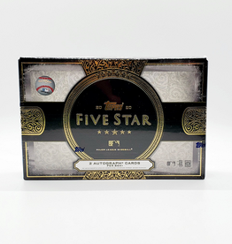 Topps 2020 Topps Five Star Baseball Hobby Box