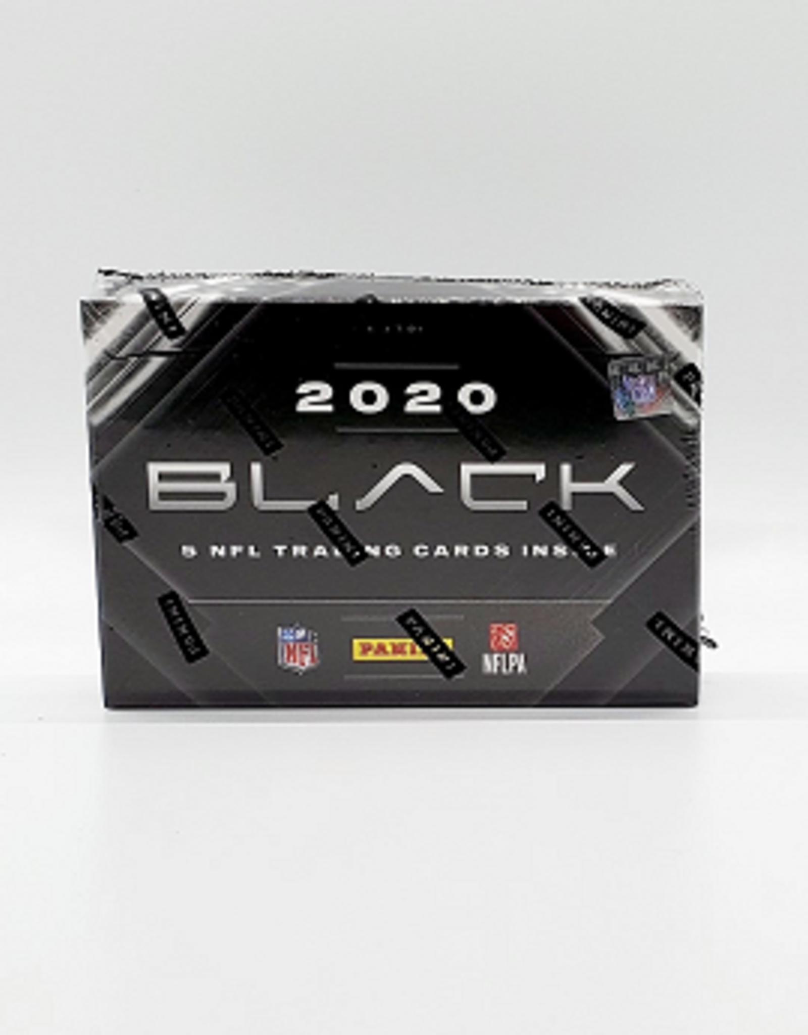 Panini America 2020 Panini Black Football Hobby Box