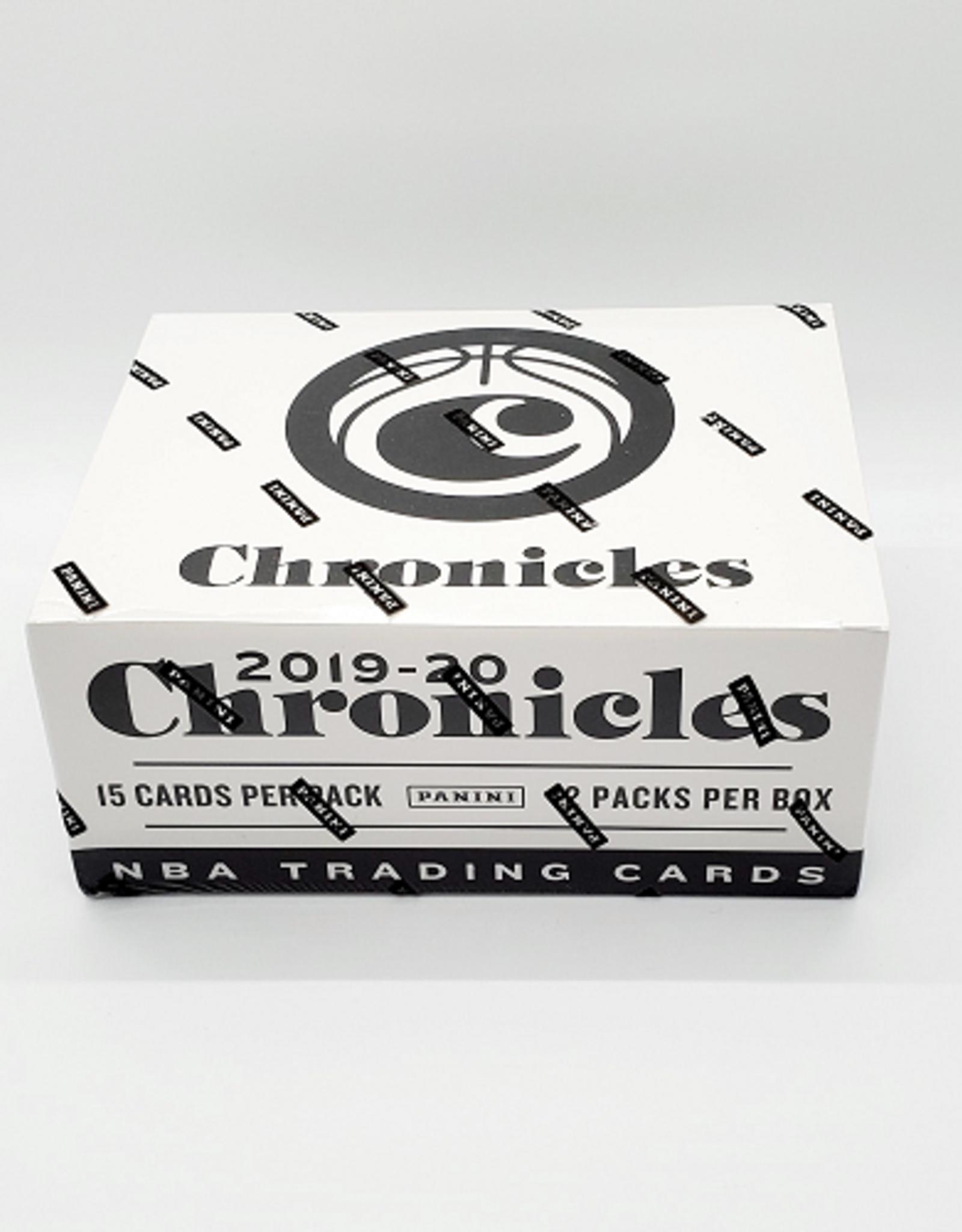 Panini America 2019-20 Panini Chronicles Basketball Cellos/Fat Pack Box