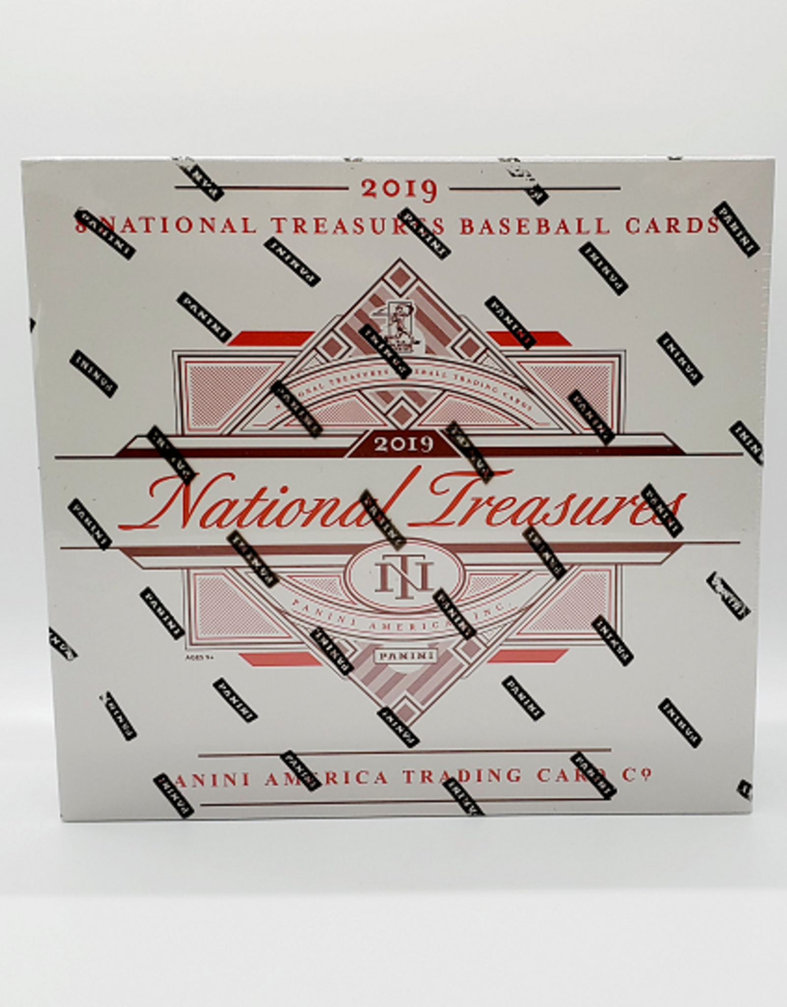 Panini America 2019 Panini National Treasures Baseball Hobby Box