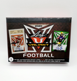 Leaf Trading Cards 2020 Leaf Valiant Football Hobby Box