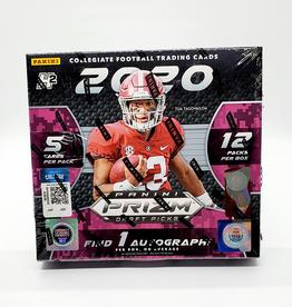 Panini America 2020 Panini Prizm Draft Picks Collegiate Football Hybrid Hobby Box
