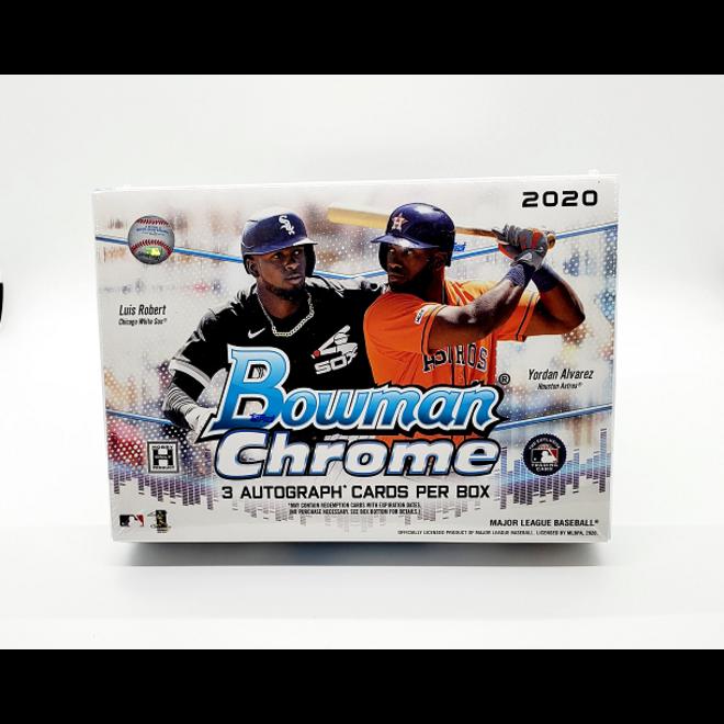 2020 Bowman Chrome Baseball Hobby HTA Jumbo Box