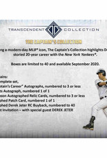 Topps 2020 Topps Transcendent Captain's Collection Baseball