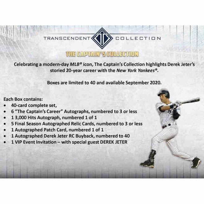 2020 Topps Transcendent Captain's Collection Baseball Box