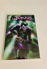 DC COMICS Joker 80th Anniversary #1 (Clayton Crain Signed)