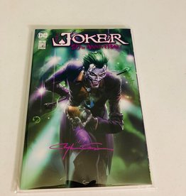 DC COMICS Joker 80th Anniversary #1 (Clayton Crain Signed)