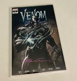 DC COMICS Venom: The End #1 (Clayton Crain Signed)