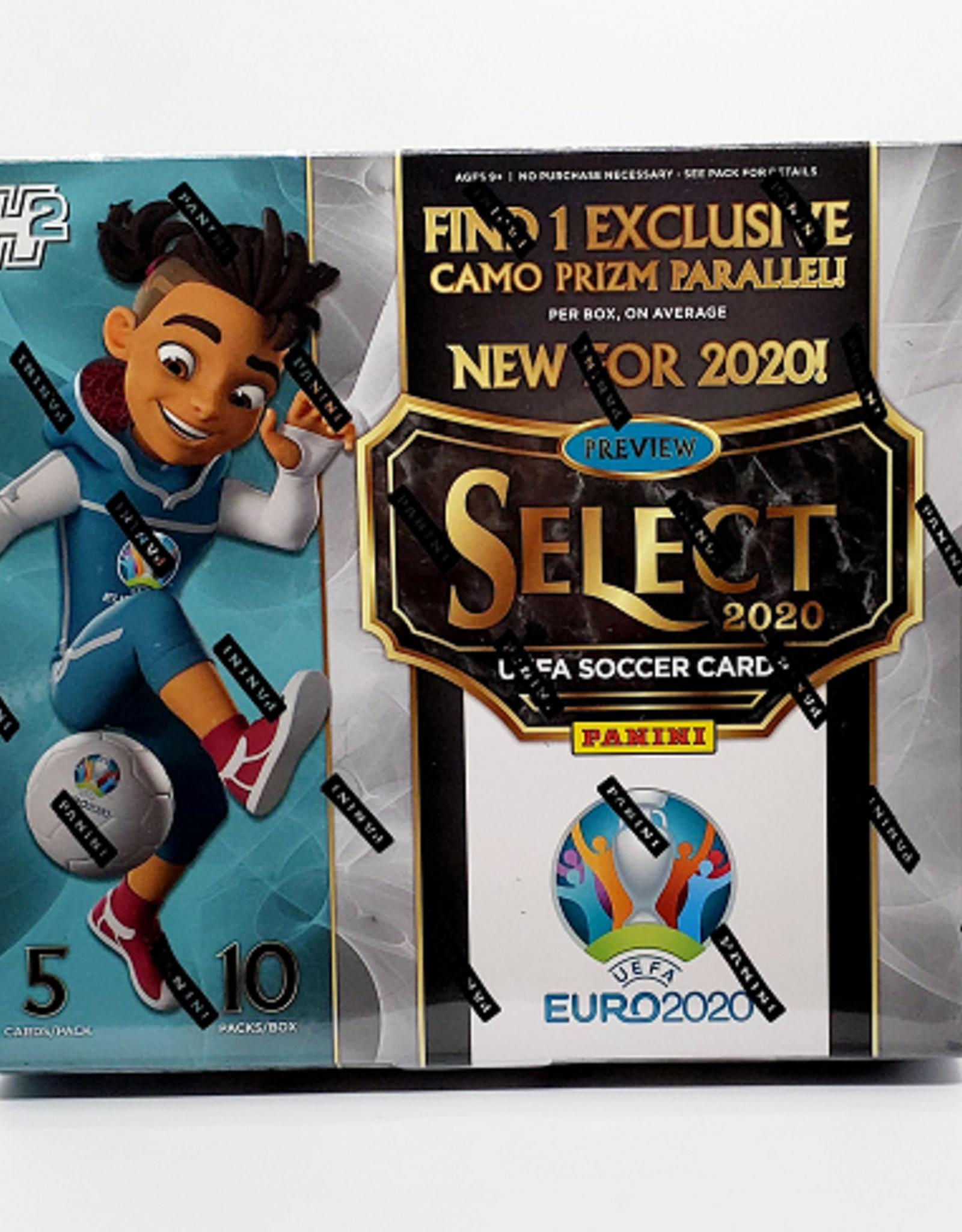 Panini America 2019-20 Panini Select UEFA Euro Soccer Hybrid Hobby Box