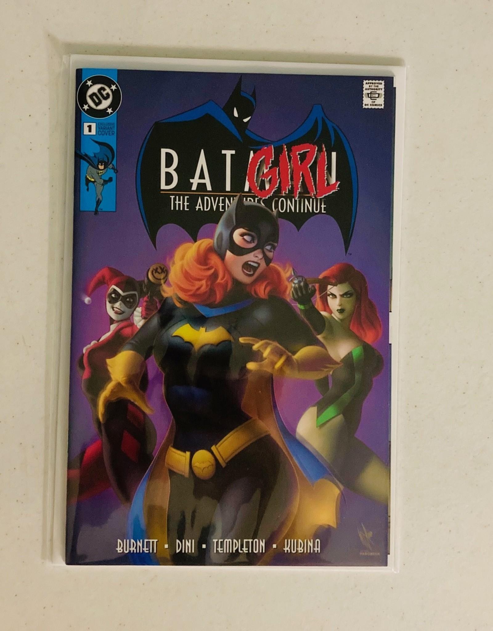 DC COMICS Batman The Adventures Continue #1 (Classic Batgirl Logo Variant)