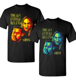 The Adventure Begins Chaz & Jarek Official Halloween T-Shirt