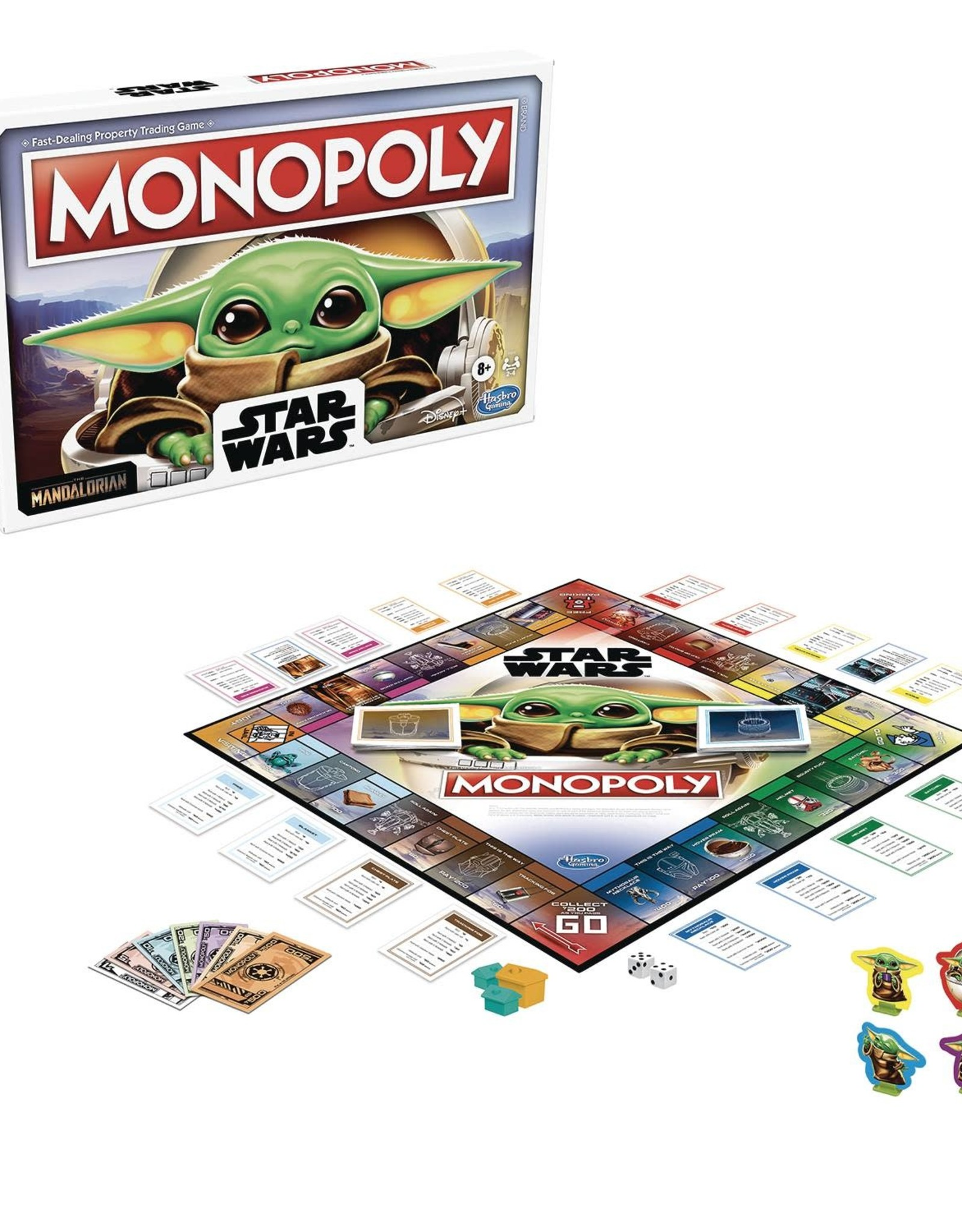 Hasbro Monopoly: Star Wars Mandalorian The Child Edition