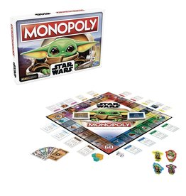 Hasbro Monopoly: Star Wars Mandalorian The Child Edition