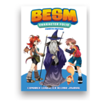Japanime Games BESM 4th Ed: Character Folio